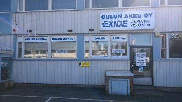 Akkuliike Oulun Akku Oy Oulu