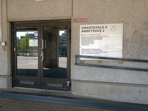 Espoon kaupunki sosiaali- ja terveystoimi Espoon keskuksen sosiaali- ja terveyskeskus Espoo
