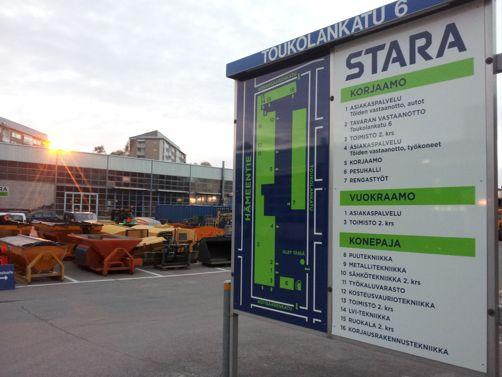 STARA Logistiikka hankinta Helsinki