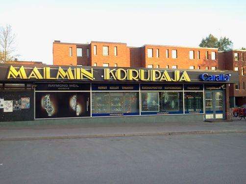 Malmin Korupaja Oy Helsinki