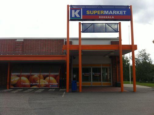 K-supermarket Rokkala Mikkeli