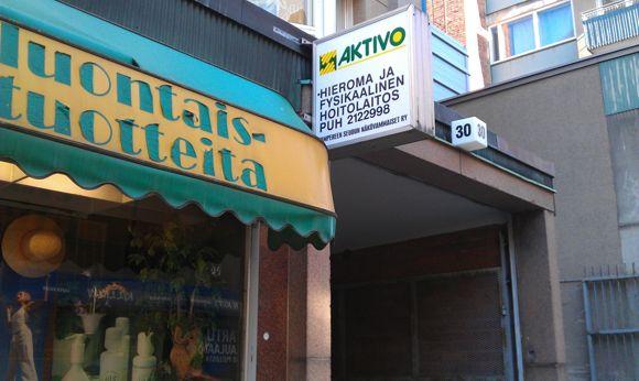 Aktivo Hieroja Kuntohoitaja Henry Oikarainen Tampere