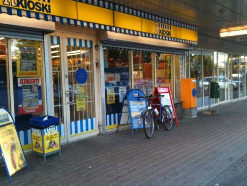 R-kioski Lahti Mukkula ostoskeskus Lahti