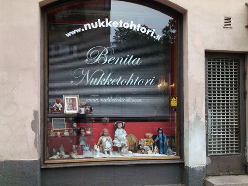 Nukketohtori Benita Helsinki