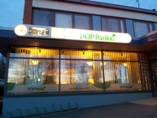 POP Pankki Lavian Osuuspankki Lavia
