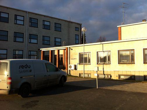 Koulutuskeskus Sedu, Seinäjoki, Kirkkokatu Seinäjoki