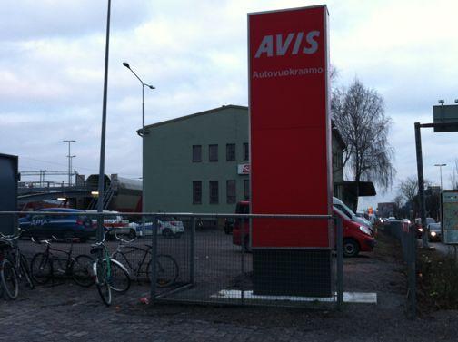 Avis Autovuokraamo Rautatieasema Turku