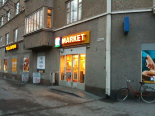net k-market hervanta aukioloajat
