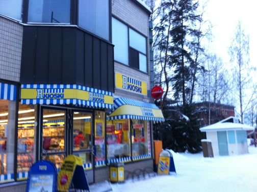 R-kioski Sastamala Puistokatu 15 Sastamala