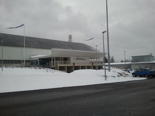 Forssan kaupunki jäähalli Forssa