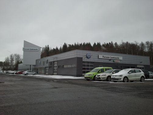 Autovuokraamo Europcar Forssa