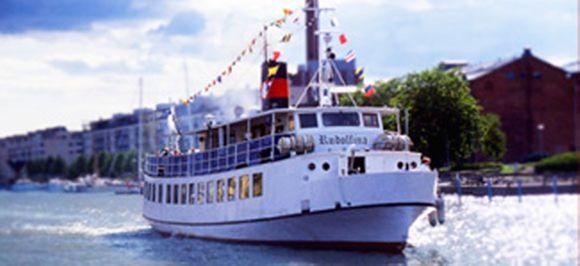 Ravintola risteilylaiva m/s Rudolfina Turku