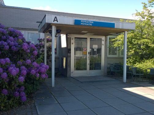 Psykiatriset palvelut Espoo Kauniainen Kirkkonummi, Jorvin Sairaala