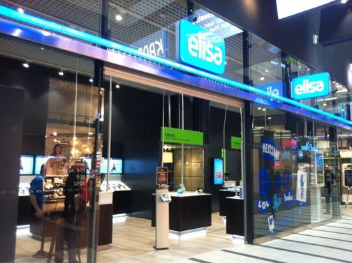 Elisa Shopit Helsinki Kauppakeskus Kaari