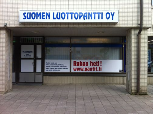 Panttilainaamo Suomen Luottopantti Oy