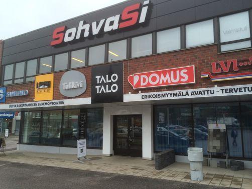 Tulikivi-studio, TaloTalo
