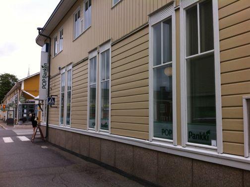 POP Pankki Suupohjan Osuuspankki Kristiinankaupungin konttori