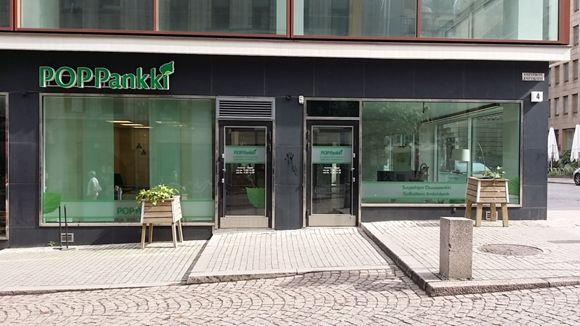 POP Pankki Suupohjan Osuuspankki Helsingin konttori