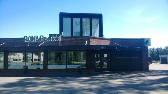 POP Pankki Pohjanmaan Osuuspankki Kauhavan konttori