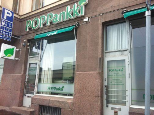 POP Pankki Lappajärven Osuuspankki Helsinki Kasarmikatu