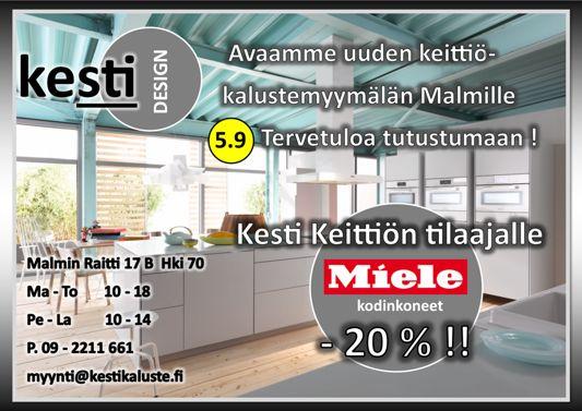 Kesti-Keittiöt