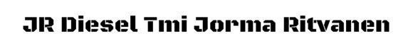 Jr Diesel Tmi Jorma Ritvanen, Pieksämäki