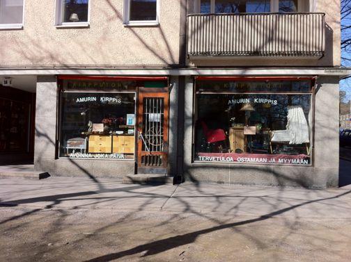 Tampereen kirpputorit ja kierrätyskeskukset / Flea markets, thrift shops Tampere | 365 days with Ida
