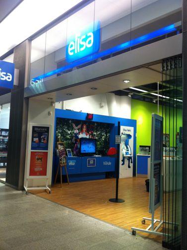 Elisa Shopit Helsinki Kauppakeskus Kamppi