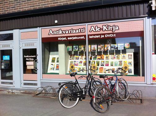 Antikvariaatti Oulun Ale-Kirja