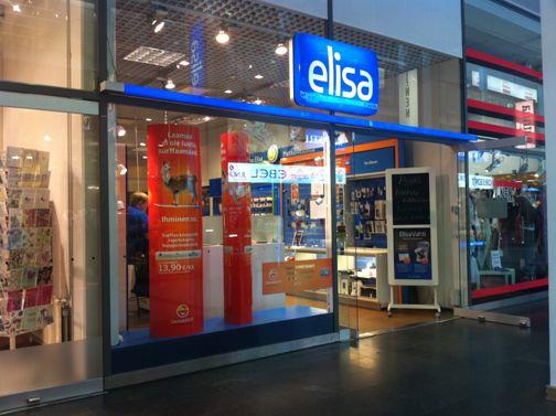 Elisa Shopit Helsinki Kauppakeskus Itis