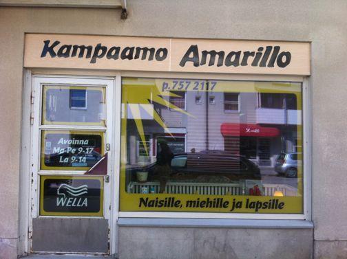 Kampaamo Amarillo
