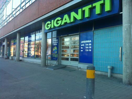 Gigantti Helsinki Itäkeskus