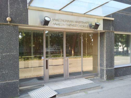 Hämeen maistraatti Hämeenlinnan yksikkö