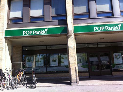 POP Pankki Kyrönmaan Osuuspankki Kokkolan Kauppatorin konttori