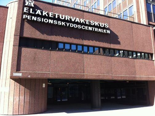 Eläketurvakeskus - Pensionsskyddscentralen