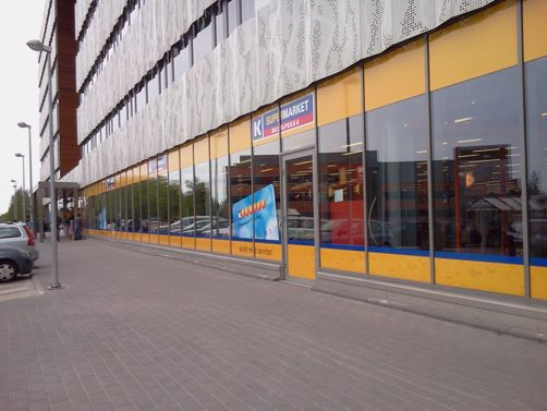 K-supermarket Mustapekka