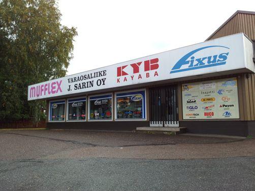 Fixus myymälä / Varaosaliike J. Sarin Oy