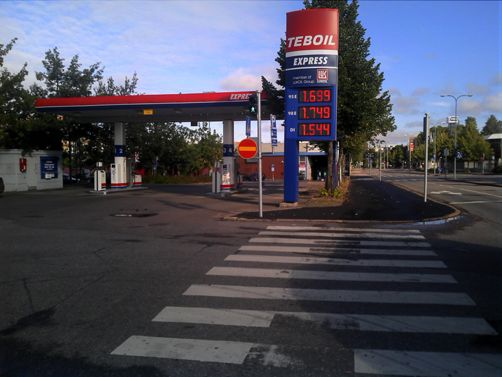 Teboil Express-automaattiasema