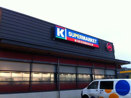 K-supermarket Hirvensalo