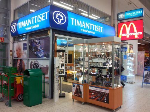 Timanttiset City Kulta Prisma