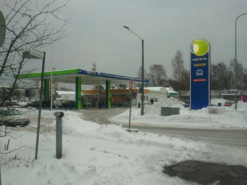 Neste Oil K-market Helsinki Laajasalo