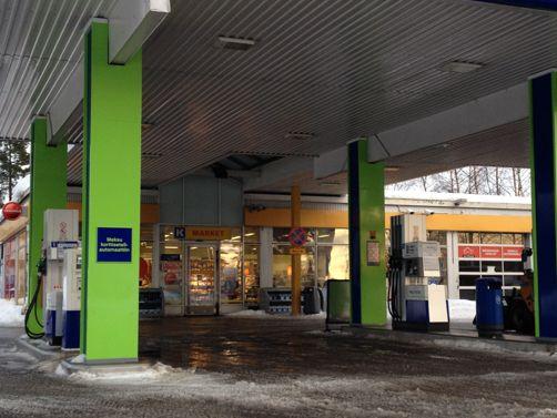 Neste Oil K-market Helsinki Kontula
