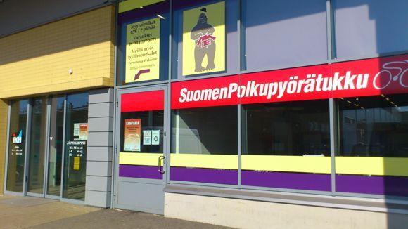 Suomen Polkupyörätukku Joensuu