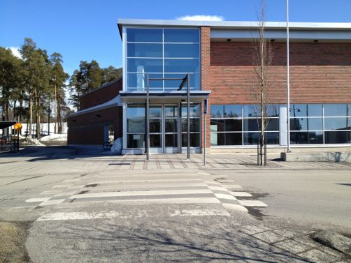 liikuntakeskus hukka Oulu