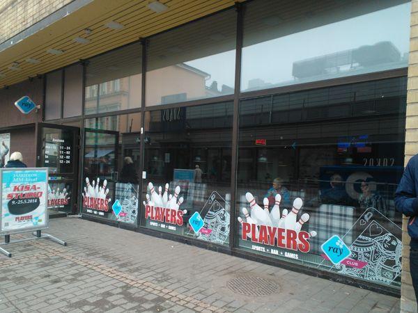 Players Sports Bar, Kotka