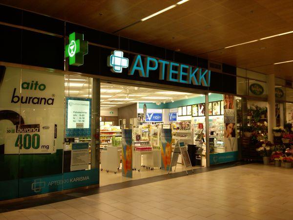 Apteekki Karisma Lahti Apteekki Fonecta Fi