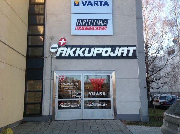 Akkupojat Oy Helsinki, Helsinki