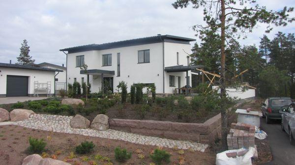 Rakennusliike M. Luostarinen Oy, Kotka