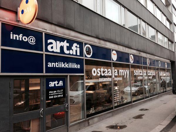 Antiikkiliike Art.fi, Helsinki