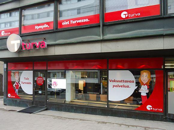 Keskinäinen Vakuutusyhtiö Turva, Turku, Turku